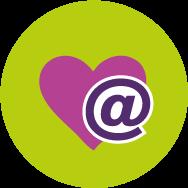 E-Mail mit Herz