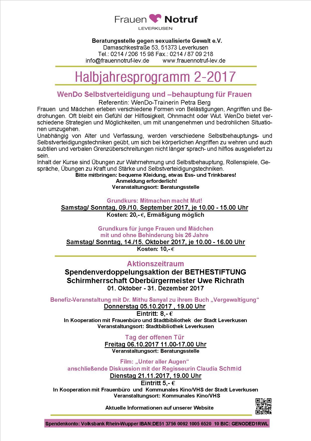 Halbjahresprogramm 2.2017