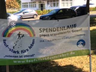 Spendenlauf gegen sexualisierte Gewalt am 31. August in Leverkusen